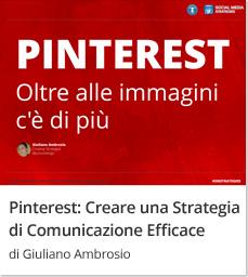 Creare una Strategia di Comunicazione su Pinterest