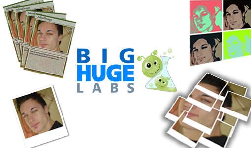 Bighugelabs: Generatore di effetti grafici