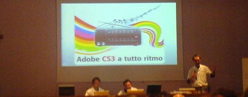 Adobe CS3 a tutto ritmo: Incontro Adobe a Torino