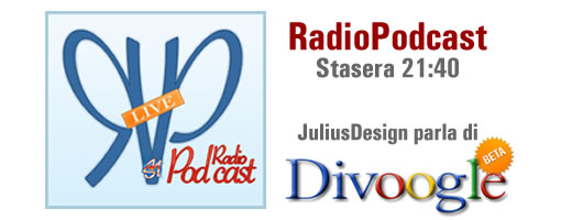 RadioPodcast: Special Guest JuliusDesign