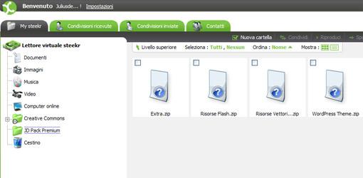 Steekr 1 giga di spazio gratuito per i tuoi file for Designer di garage online gratuito