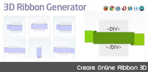 3d ribbon generator creare online ribbon 3d juliusdesign for Creare progetti online