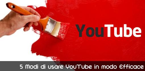 Usare YouTube per promuovere se stessi