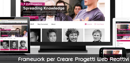 Foundation framework per creare progetti web reattivi for Creare progetti online