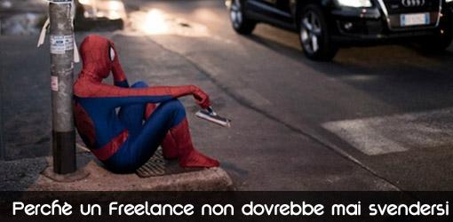 Perchè un Freelancer non dovrebbe mai svendersi
