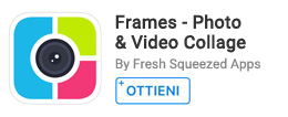 Per creare collage video e foto.