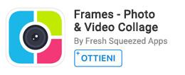 Per creare collage video e foto.