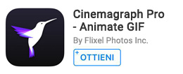 Per creare cinemagraph da foto e video.