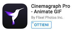 Per creare cinemagraph da foto e video.