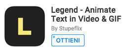 Per creare video animazioni utilizzando testo e immagini.