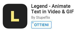 Per creare video animazioni utilizzando testo e immagini.