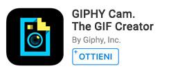 Crea GIF usando foto, effetti e oggetti.